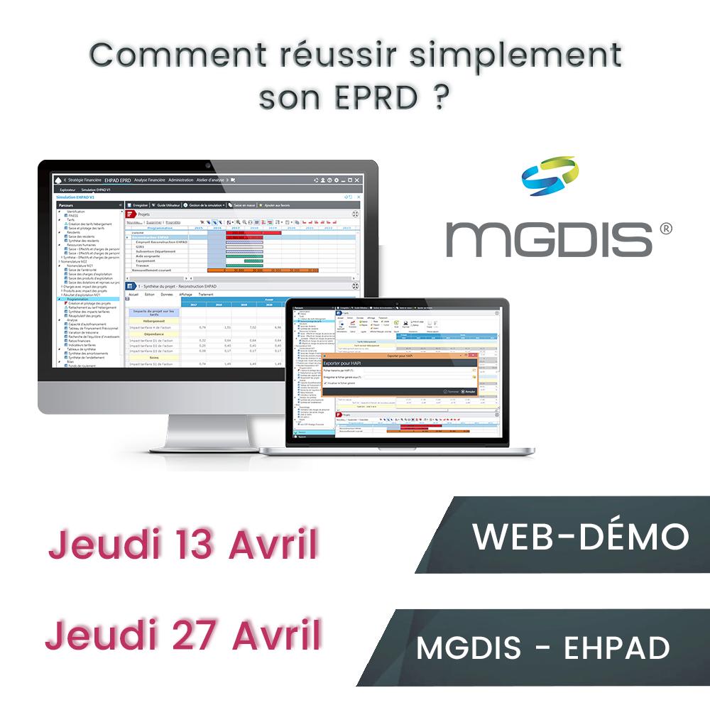 Web démo MGDIS EHPAD